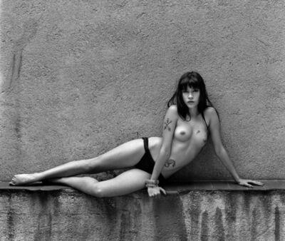 Alberto García Alix, 'Elena Mar, odalisca en mi patio', 1987