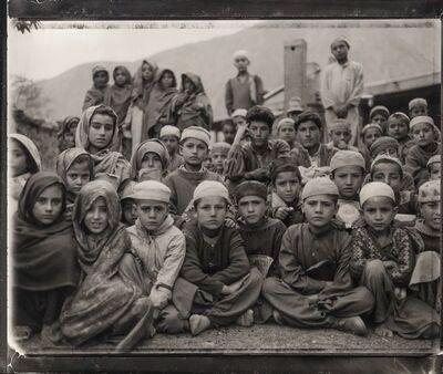 Fazal Sheikh, 'Absul Kalan's madressa, Afghan refugee village, Urghuch, Northern Pakistan', 1997