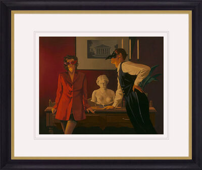 Jack Vettriano, 'The Sparrow and the Hawk', 2013