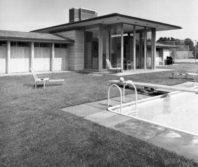 Pedro E. Guerrero, 'Irwin Pool House, New Canaan, CT (Landis Gores, Architect) ', 1961