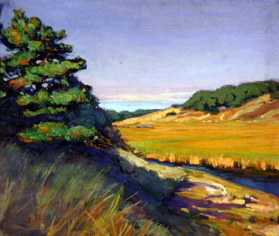 Margaret Jordan Patterson, 'Cape Cod Landscape', Early 20th century