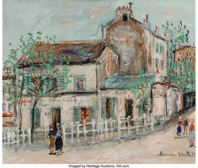 Maurice Utrillo, 'Cabaret du Lapin Agile'
