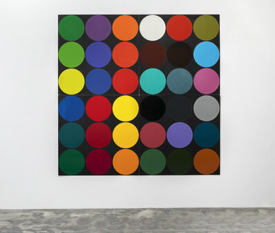 Poul Gernes, 'Untitled (Dot painting)', 1966-1968