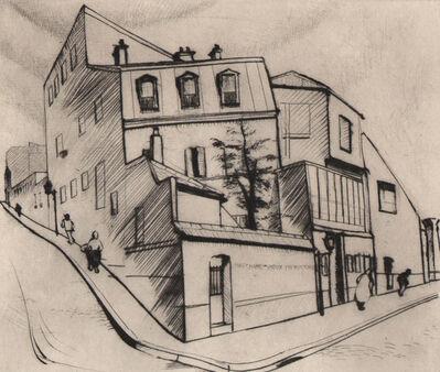 Stanley William Hayter, 'Rue Dareau ', 1927