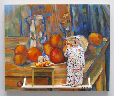 Stephen Hansen, 'Still Life with Milk Jug and Fruit (Cezanne)', 2021