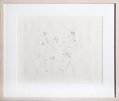Leonor Fini, 'Six Nudes', circa 1970