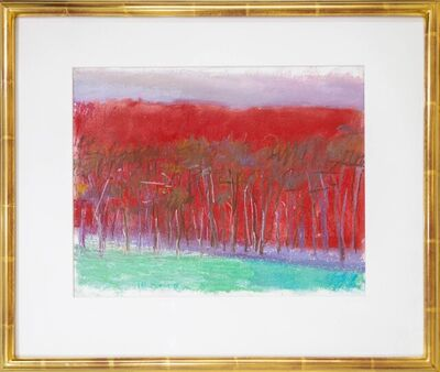 Wolf Kahn, 'A Special Red', 1994