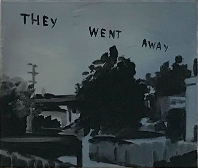 Andreas Leikauf, 'They went away', 2005