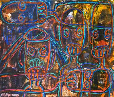 Aboudia, 'Un cabas comme un tableau', 2015