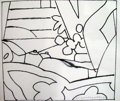 Tom Wesselmann, 'Drawing for Sunset Nude #2', 2002