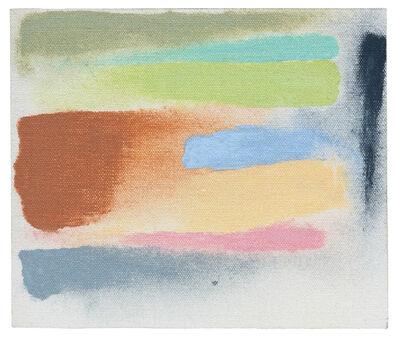Friedel Dzubas (1915-1994), 'To Feely Xmass (Sketch)', 1972