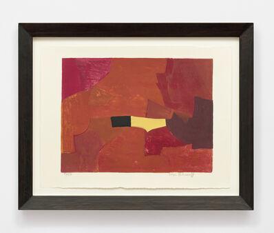 Serge Poliakoff, 'Composition lie-de-vin, jaune et noire', 1961