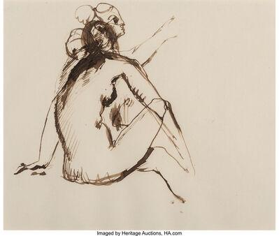 Balthus, 'Double etude de nu', 1928