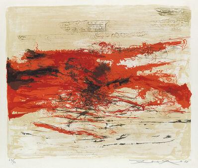 Zao Wou-Ki 趙無極, 'Sans Titre', 1968