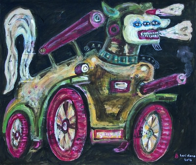 Heri Dono, 'The Vehicle of Anger', 2016