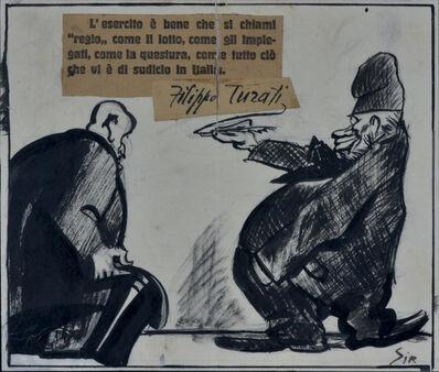 Mario Sironi, 'MASSIME...PATRIOTTICHE', 1924
