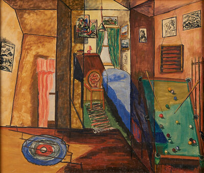 Joseph Meierhans, 'Untitled (Interior)'