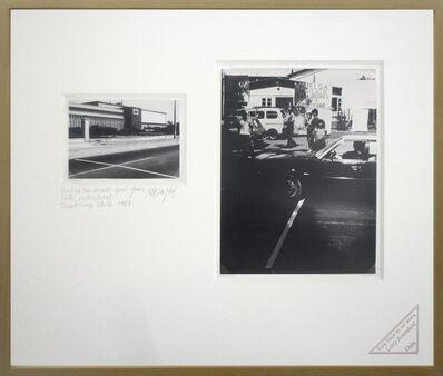 Lotty Rosenfeld, 'Huelga Sindicato. Good Year / Union Strike. Good Year', 1983
