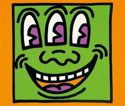 Keith Haring, 'Three Eyed', 1990