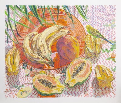 Janet Fish, 'Still Life with Tropical Fruits', 1992