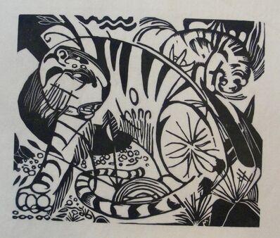 Franz Marc, 'Tiger', 1912