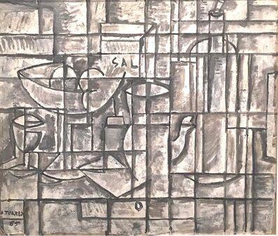 Augusto Torres, 'Bodegón constructivo', 1965