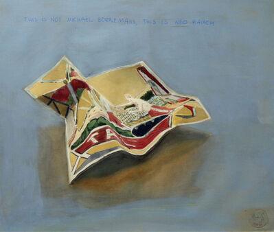 Marta & Slava, 'This is not Michael Borremans, this is Neo Rauch30,5 x 50,5 cm ', 2018