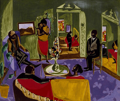 Jacob Lawrence, 'The Visitors', 1959