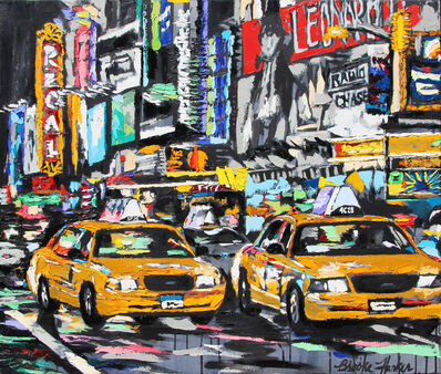 Brooke Harker, 'Parade of Taxis', 2019