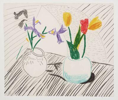 David Hockney, 'White Porcelai, From Mooving Focus', 1985-1986