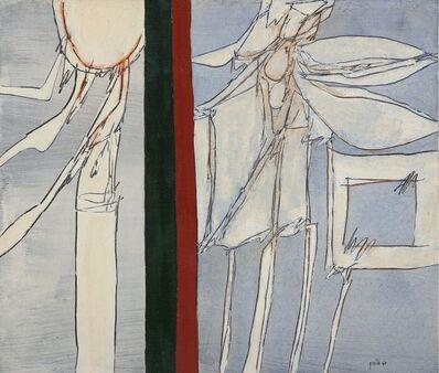 Achille Perilli, 'La voce isolata', 1966