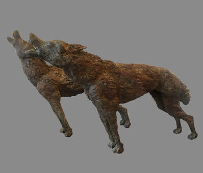 Anne Sophie Morelle, 'Howling Wolf I', 2016