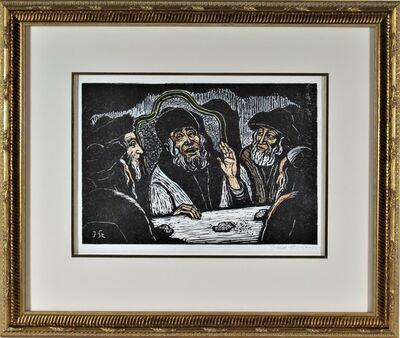 Jacob Steinhardt, 'Rabbi's Communion With God', ca. 1960