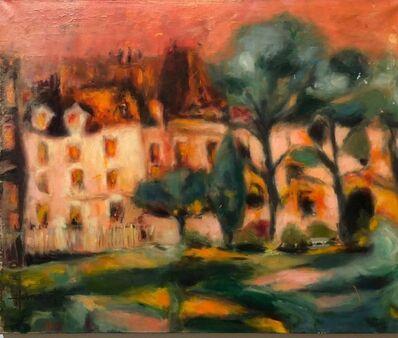 Claude Hemeret, 'French Modernist Vivid Fauvist Landscape Oil Painting', 20th Century