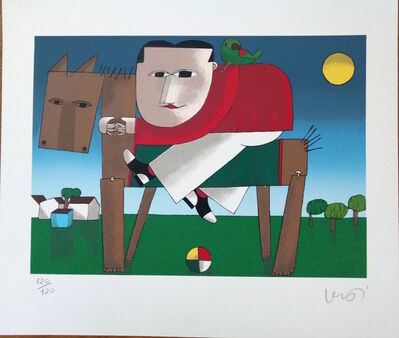 Inos Corradin, 'Wooden Horse ', 2000-2010