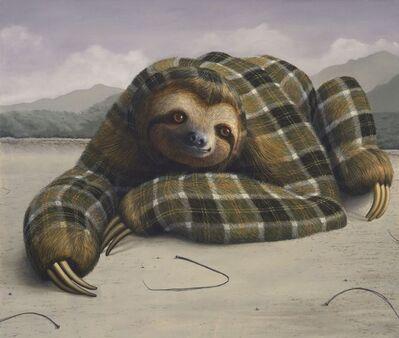 Sean Landers, 'Three-Toed Sloth', 2014