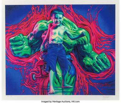 Ron English, 'Hulk Boy', 2007