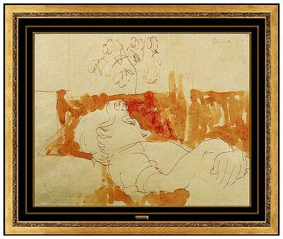 Jim Dine, 'Nancy (The Artist's Wife)', 1957