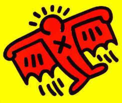Keith Haring, 'Icons-Devil', 1990