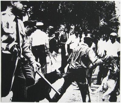 Andy Warhol, 'Birmingham Race Riot ', 1964