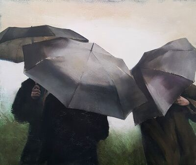 Christopher Thompson, 'Umbrellas', 2019