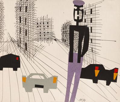 Árpád Darvas, 'Suburban streets ', 1959