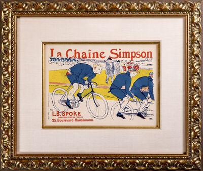 Henri de Toulouse-Lautrec, 'Le Chaine Simpson', 1900