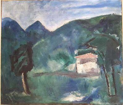Mario Sironi, 'Paesaggio ', 1928