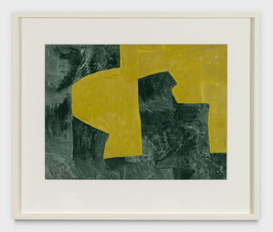 Serge Poliakoff, 'JAUNE ET VERT', 1961