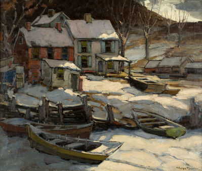 Walter Farndon, 'Midnight Snow in Nova Scotia', 19th -20th Century