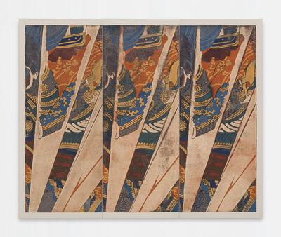 Kour Pour, 'Triple Samurai (Kuniyoshi)', 2018