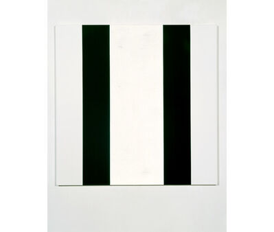Mary Corse, 'Untitled (Black White Inner Band, Beveled)', 2006