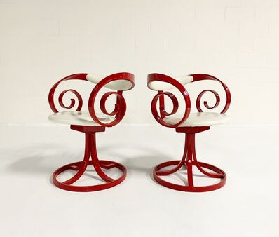 George Mulhauser, 'Sultana Chairs, Pair', c. 1965
