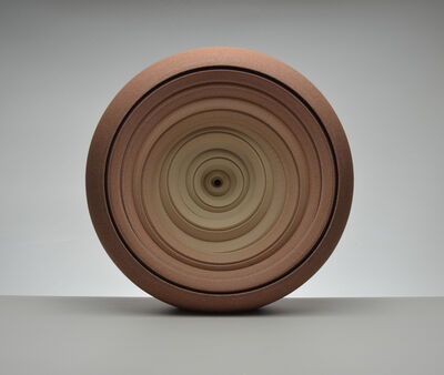 Matthew Chambers, 'Earth Red Slow Twist sculpture', 2020